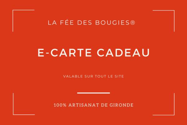 carte cadeau La Fée des Bougies