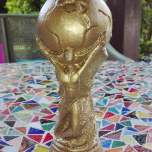 Bougie Coupe du Monde Football