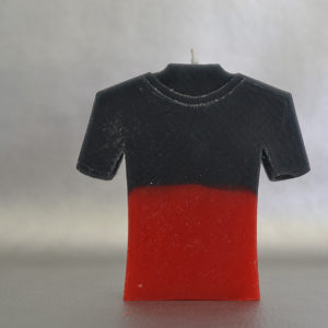 Bougie Maillot de Rugby